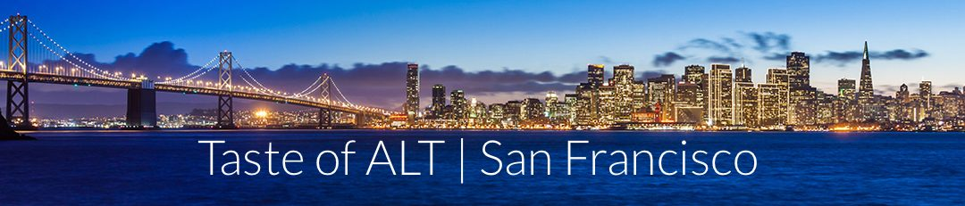 "Join us for ""A Taste of ALT"" Design Thinking Workshop in San Francisco"