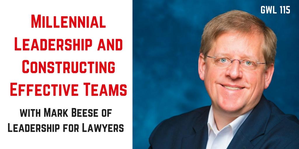 GenY Lawyer Interviews Mark Beese on Millennial Leadership